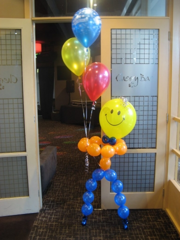 Balloon Man Bubbly Bellboy Bouquet
